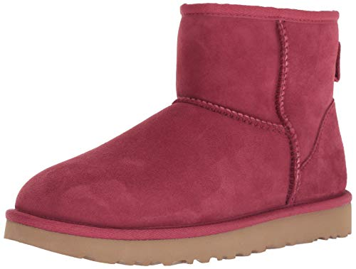 UGG Women's W Classic Mini II Fashion Boot, Garnet, 8 M US (Boots Mini Women)