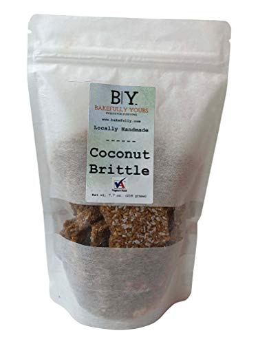 Bakefully Yours, Coconut Brittle, 7oz