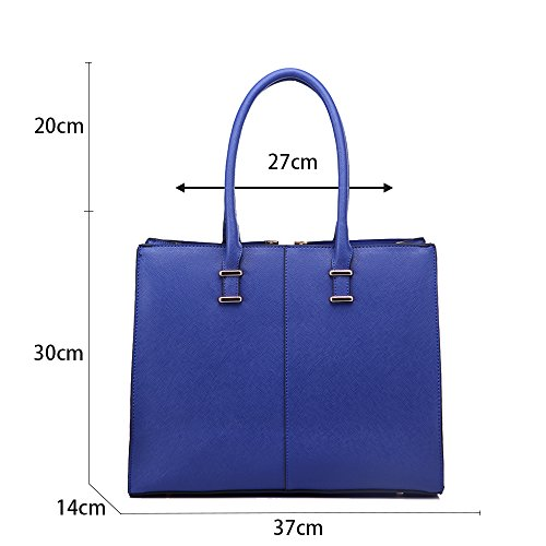 CWS00319 Ladies Women's Bags Handbags Fashion Desinger Navy CWS00319 Quality Trendy Tote Hotselling qgrnazwBqx