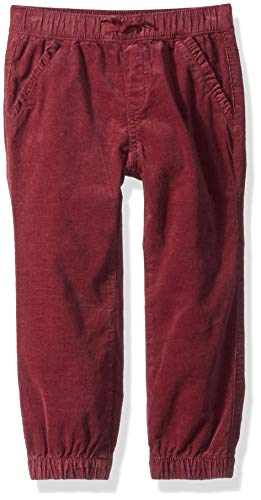 Gymboree Girls' Big Corduroy Joggers, Berry Cord 2T