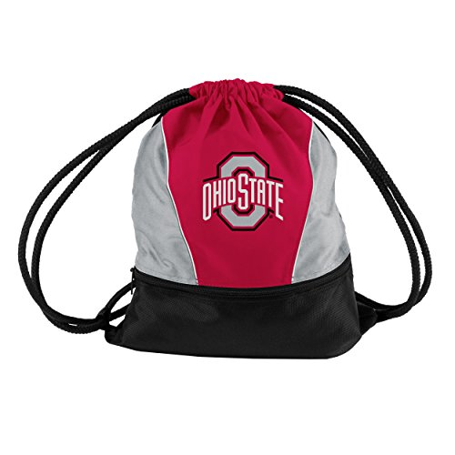Logo Brands NCAA Ohio State Buckeyes Sprint Pack, Small, Red