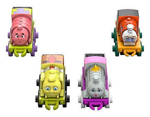 Fisher-Price Thomas the Train SpongeBob Square Pants Characters (4 Pack) (Thomas Train Characters)