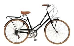 City Bike , Commuting bicycle 700C , Black , 8 speed Shimano Altus, 42CM Women's by Biria
