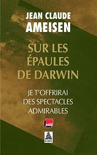 """Résultat de recherche d'images pour """"sur les épaules de darwin livres"""""""