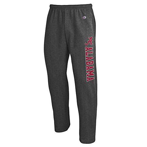 (Elite Fan Shop Alabama Crimson Tide Sweatpants Charcoal - XL)