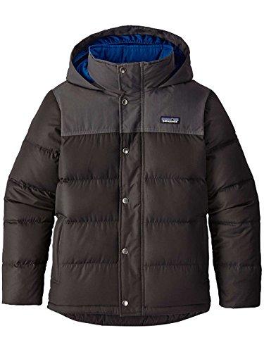 Patagonia Boys' Bivy Down Hooded Coat (M, Black)