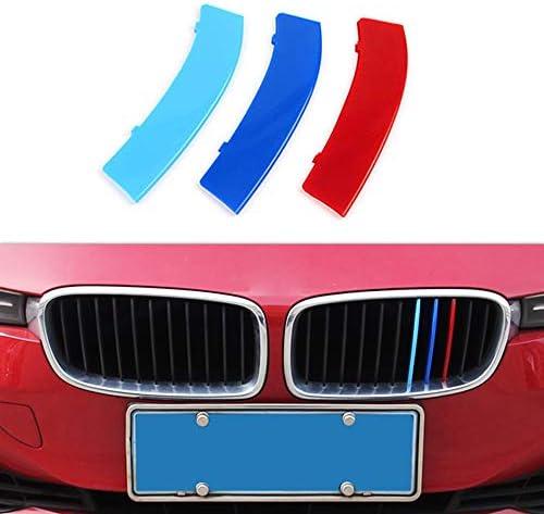moldura de Cubierta de Salida de ventilaci/ón de Aire de ala Lateral ABS JIERS Para BMW 3 Series F30 F35 2013-2017