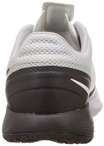 Nike Fs Lite Trainer 3, Zapatillas de Deporte para Hombre Blanco / Negro / Plata (White/Black-Pure Platinum)