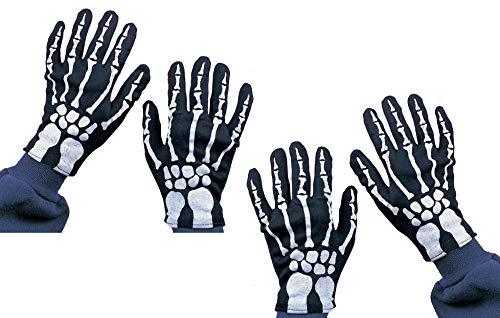 Rubie's Costume Co Child Skeleton Gloves Costume (Two Pack) Black]()
