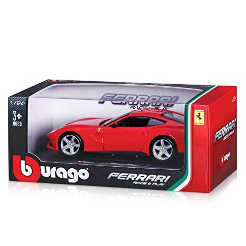 Bburago 1:24 Scale Ferrari Race and Play F12 Berlinetta Diecast Vehicle (Colors May Vary) ()