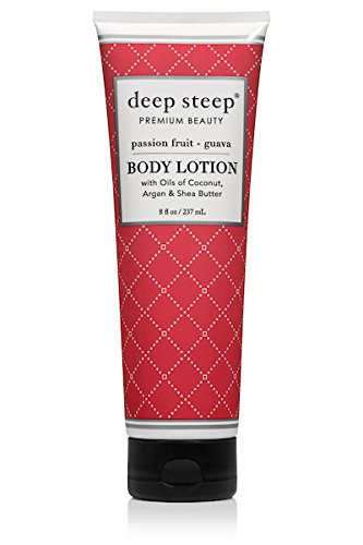 Deep Steep Body Lotion, 8 Ounce (Passion Fruit Guava)