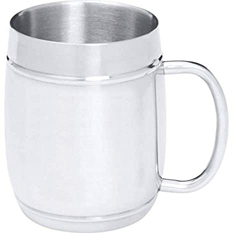 0,8 kg, Acero inoxidable jarra de cerveza: Amazon.es: Hogar