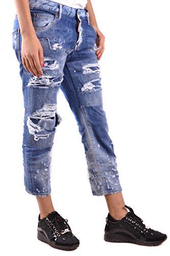 Donna Jeans Cotone Blu S72la0955s30342470 Dsquared2 O1qwC5C