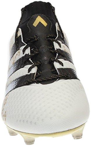 Adidas Mannen Ace 16.1 Primeknit Fg Voetbal Klampen Wit