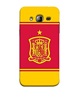ColorKing Football Spain 13 Multi Color shell case cover for Samsung On7
