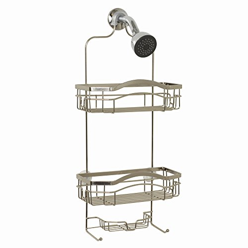 ZPC Zenith Products Corporation E7523STBB Over-The- Over-The-Showerhead Caddy