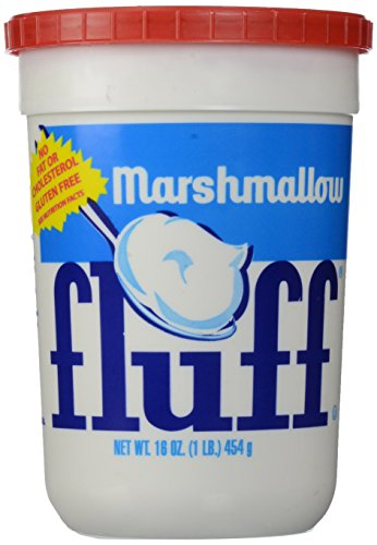 Fluff Marshmallow Fluff Original, 16 oz (Peanut Butter Fudge Made With Marshmallow Creme)