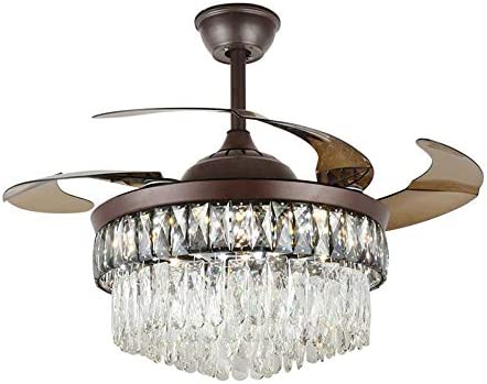 Sky Demons 42 Modern Crystal Fandelier LED Chandelier