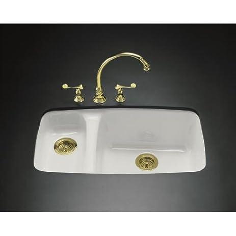 Lovely Kohler K 5924 5U FT Lakefield Undercounter Sink With Installation Kit,  Basalt