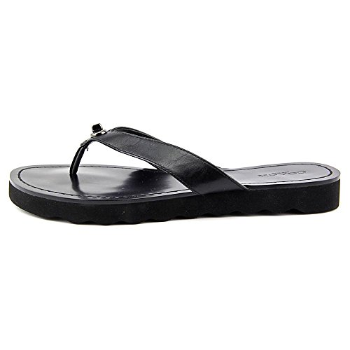 Coach Shelly Leder Badesandalen Black