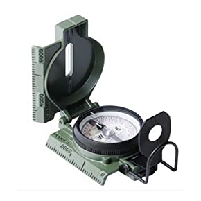 Cammenga Phosphorescent Clam Pack Lensatic Compass