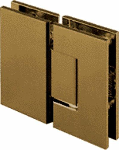 C.R. LAURENCE GEN1800RB CRL Oil Rubbed Bronze Geneva 180 Series 180 Degree Glass-to-Glass Standard Hinge