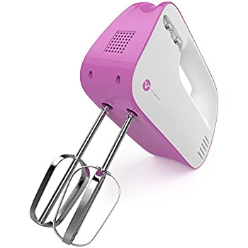 Amazon Com Vremi 3 Speed Compact Hand Mixer With Clever