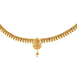 Sanjog Stylish Gold Plated Temple Kamarband Belly Chains for Women