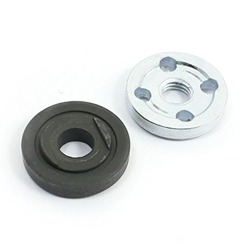 uxcell 2Pcs Replacement Angle Grinder Part Inner Outer Flange for Makita 9523 (Replacement Angle)