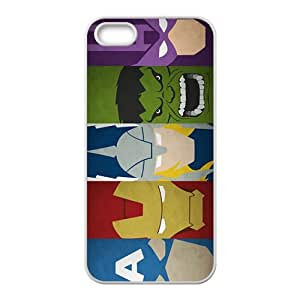 The Avengers Pattern Hot Seller Stylish Hard Case For Iphone 5s
