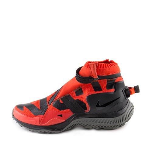 Grey Nike Gyakusou Gaiter Cyber Mens Boot Nylon Orange Black NSW xOO48nwg