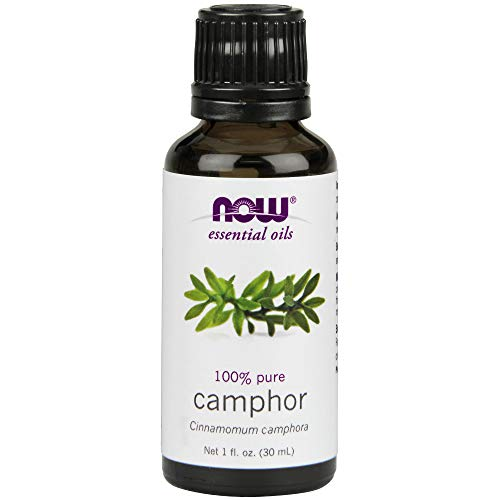 Now Camphor Oil, 1-Ounce (Pack of 2) (Best 100 Percent Pure Essential Oils)
