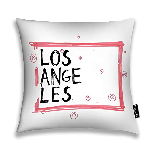 Randell Throw Pillow Covers Los Angeles Home Decorative Throw Pillowcases Couch Cases -