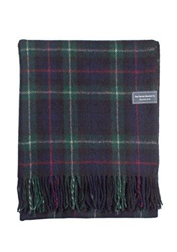 Scottish Wool Blankets - The Tartan Blanket Co.. Recycled Wool Blanket Mackenzie Tartan (68