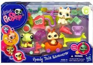 Littlest Pet Shop Hasbro Accesorios Carreras de Coches - Set de 3 ...