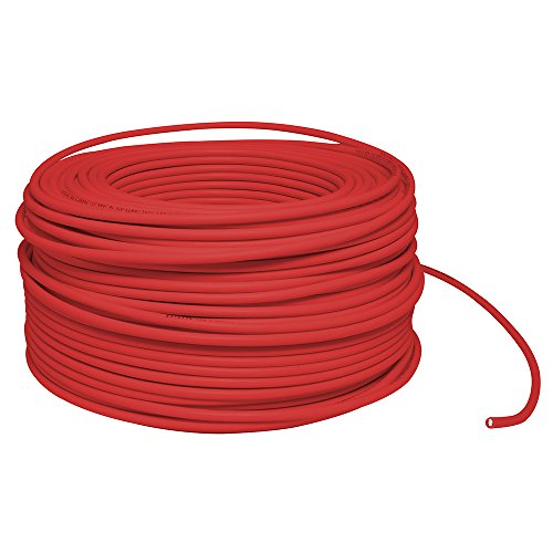 Surtek 136957 Cable THW, Calibre 14, Cobre-Aluminio, Color Rojo, 100 Metros
