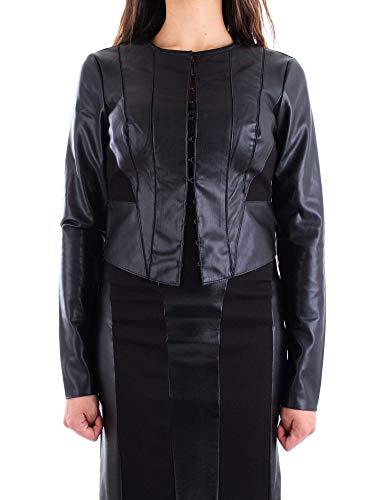 Poliestere Heach Donna Pga18678gcnero Giacca Nero Outerwear Silvian SqxXdS