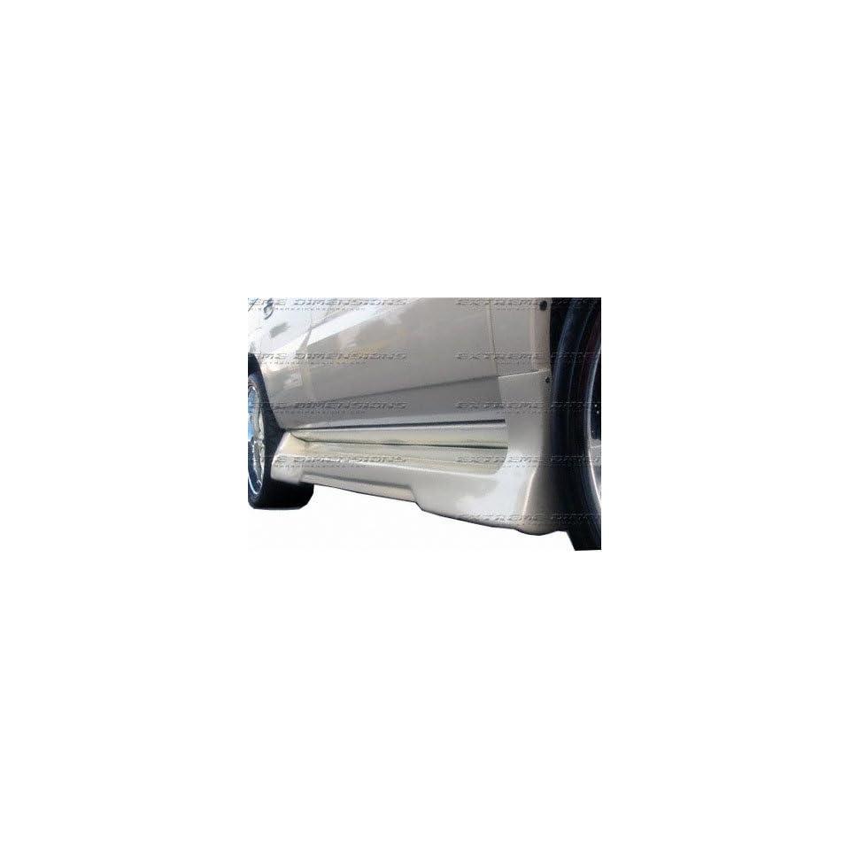 Side Skiters 2002 2006 Cadillac Escalade except EXT & ESV; Platinum 2 Side Skirts