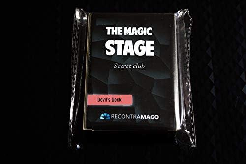 RecontraMago Devil Deck + Acceso Área Secreta con VideoTutorial Online por Magos Profesionales - Trucos de Magia Profesional - Juego de Magia