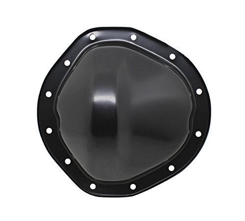 1962-82 CHEVY/GMC TRUCK BLACK STEEL REAR DIFFERENTIAL COVER - 12 BOLT W/ 8.75