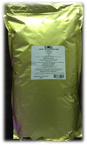 Colombian Coffee- Oma Export Line -5 Pounds (2500g-88oz) Ground