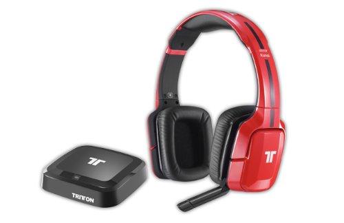TRITTON Kunai Wireless Stereo Headset Red