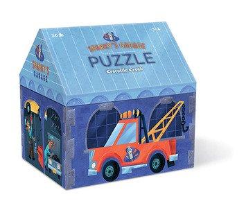 Box Creek House (Crocodile Creek 36 pc House Shaped Box Puzzle/Sparky's Garage)