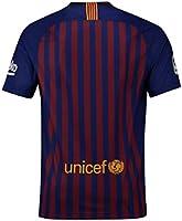 2018-2019 Barcelona Home Nike Football Soccer T-Shirt Camiseta ...