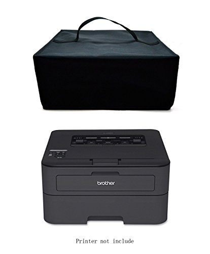 A4 Mono Printer - BROTHER HL-L2340DW / HL-L2300D / HL-L2360DN / HL-L5100DN A4 Mono Laser Printer Dust Cover Heavy Duty Fabric Water Resistant and Protector Antistatic With Hand Straps