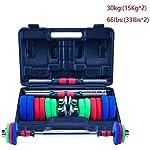 AOLI-Set-di-pesi-con-manubri-Attrezzature-per-il-fitness-a-casa-Bilanciere-regolabile-Dispositivo-di-allenamento-per-esercizi-con-il-braccio-con-manubri-Attrezzature-per-il-fitness-Manubri30-kgpa