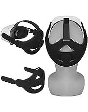 Esimen Q2 Adjustable Head Elite Strap for Oculus Quest 2 Replacement Headband with Comfort Foam Head Cushion, Balance Weight and Reduce Pressure Oculus Quest 2 Accessories(Q2 Black)