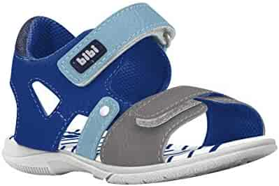 c64baad695d29 KIDKLICK FUN FASHION | FROM BRAZIL Boys Sandal in Blue and Grey (Sizes 5.5  Toddler