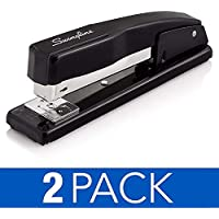 2 Pack Swingline 20 Sheet Capacity Commercial Staplers (Black)