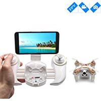 Cheerson Mini Drone with Camera Live Video and High Hold Mode Nano RC Quadcopter with Camera live View by Smartphone